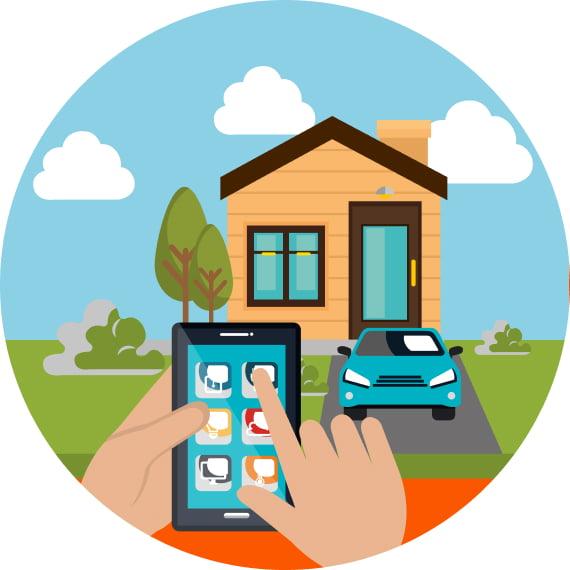 Smart home rental management